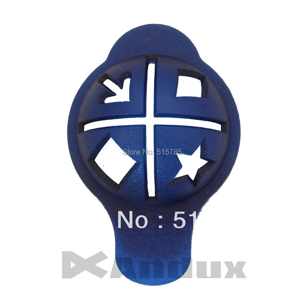 Golf Ball Linear Line Marker Template Swing Putting Drawing