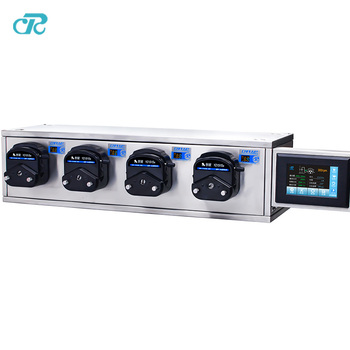 CR System napełniania pompa pompa perystaltyczna z wielu kanałów YZ1515x tanie i dobre opinie peristaltic pump filling system Electric Each filling unit 50W Niskie ciśnienie Standardowy liquid dispensing transfer