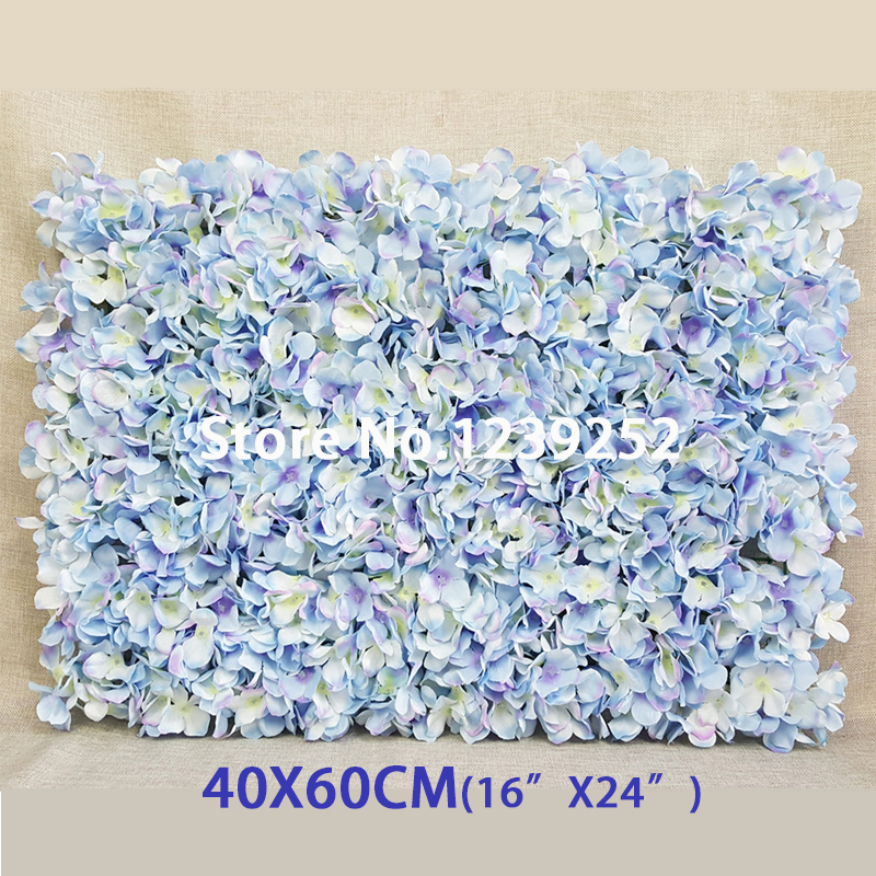 New Artificial Hydrangea Silk Flowers Wall Decoration Banquet