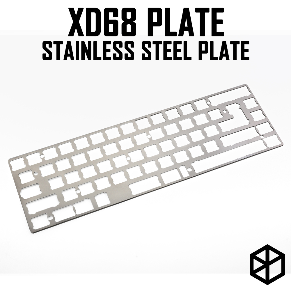 Stainless Steel Plate For Xiudi Xd68 65% Custom Keyboard Mechanical Keyboard Plate Support Xd68