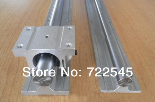 20 mm Linear Rail Set 2xTBR20 -1000 mm + 2xTBR20UU Block For CNC Parts Set20 mm Linear Rail Set 2xTBR20 -1000 mm + 2xTBR20UU Block For CNC Parts Set
