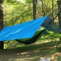 Taşınabilir Çadır Gölgelik Hamak Kamp Barınak Tarp Yatak Mat için Kilim 300 cm * 300 cm Açık Tente Kamp Gölge gölgelik Gazebo