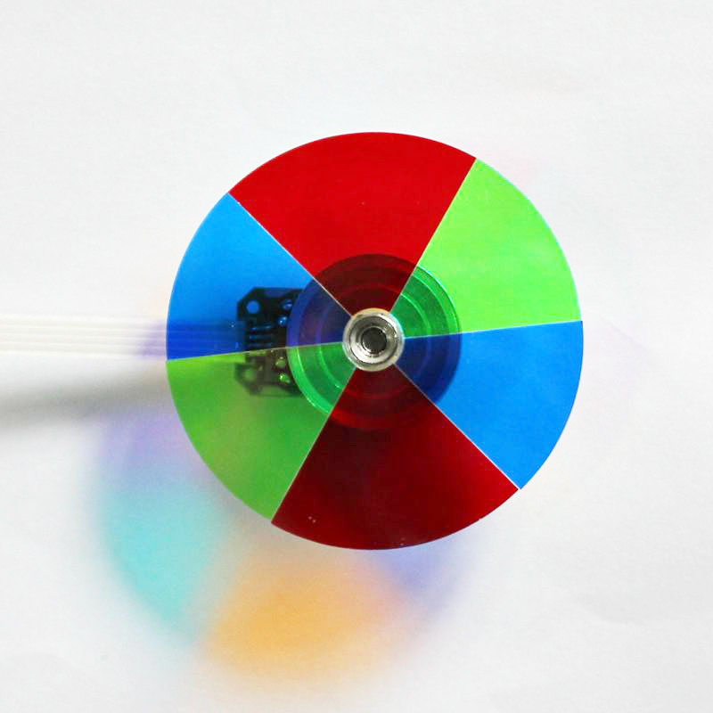 100% New Projector Color Wheel For BENQ PE7700 PE8700 Free Shipping-in Projector Accessories from Consumer Electronics    1