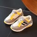 Zapatos para niños Niños Sneakers 2017 Nueva Primavera Deporte Solos Zapatos de Los Muchachos Niños Corriendo Suave Transpirable Fuera Únicos Niños Zapatos de Las Muchachas