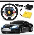 Rc Детей тяжести зондирования руль пульт дистанционного управления автомобиля дистанционного управления автомобилем зарядки огни гонки на игрушечных автомобилях