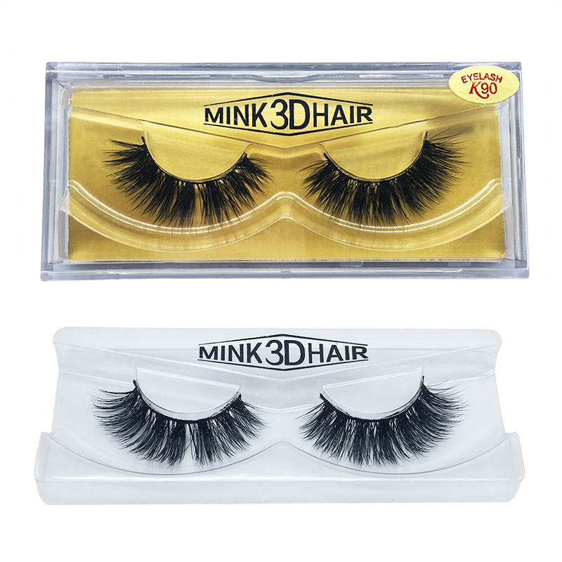 Brand 3D Mink Eyelash Real Mink Handmade False Eyelashes ...