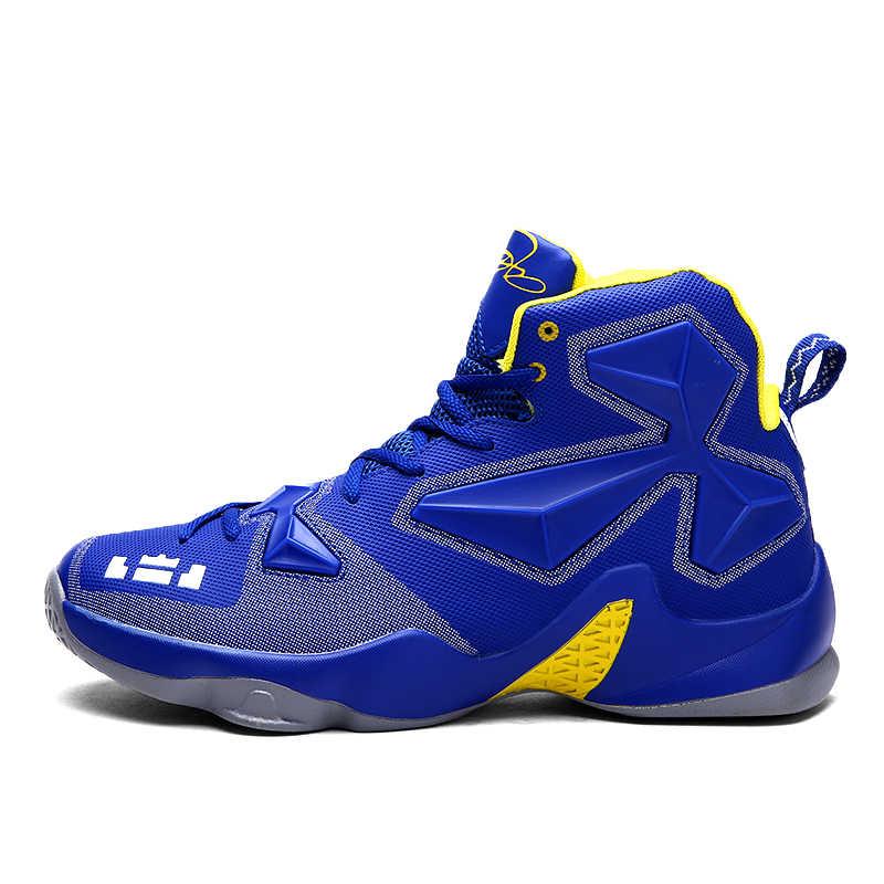 Новинка; Баскетбольная обувь для мужчин; удобная амортизирующая спортивная обувь для женщин; спортивная обувь для улицы; Lebron James 13; дышащие кроссовки