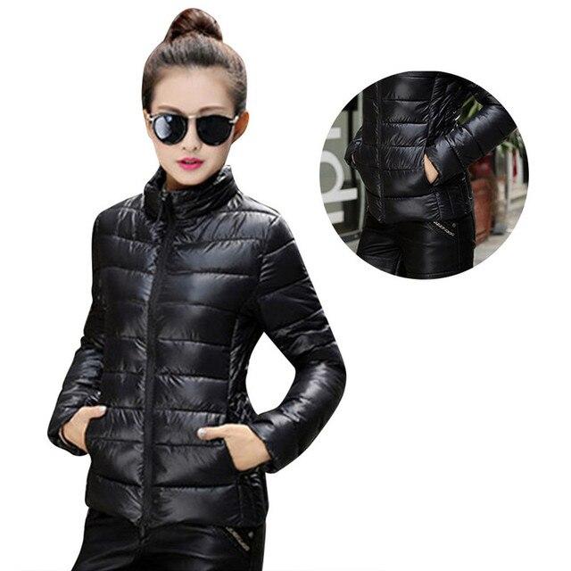 С капюшоном Плюс Размер Корейский Длинным Рукавом Теплый Свет Вниз Проложенный WinterJacket Женщины Парки Для Женщин Зимнее Пальто