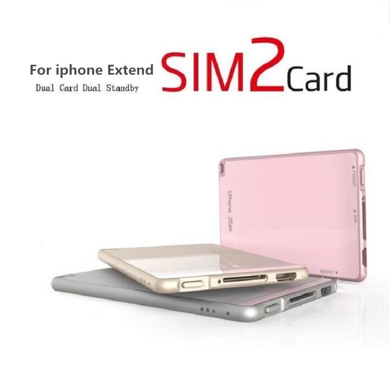 Тонкий <font><b>Bluetooth</b></font> Dual <font><b>SIM</b></font> адаптер для iphone 8 Портативный Коврики один телефон две Мобильные <font><b>SIM</b></font>-карты двойной адаптер <font><b>Bluetooth</b></font> 4.0