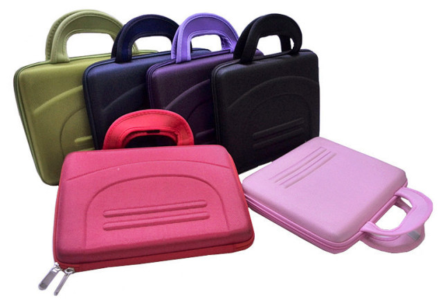 "High Quality 10"" (25.4cm) Colorful Hard Netbook Laptop Sleeve Case Bag for ipad 2  3  4 5 6 SLEEVE BAG"
