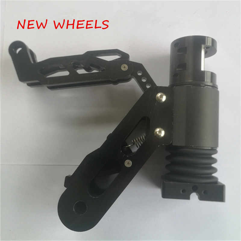 Suitable for 5.5-inch, 6.5-inch electric scooter aluminum alloy carbon fiber scooter universal folding system and shock absorber