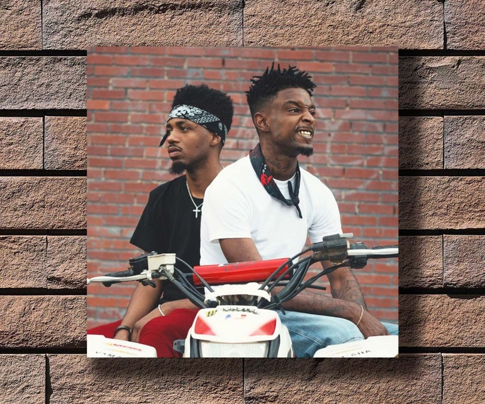 y514 metro boomin and 21 savage music rapper album cover hot poster art canvas print decoration 16x16 24x24 27x27inch wall stickers aliexpress y514 metro boomin and 21 savage music rapper album cover hot poster art canvas print decoration 16x16 24x24 27x27inch