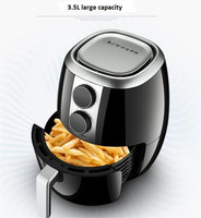 Friteuse pour pommes de terre et frites à usage domestique, 3,5 l 3