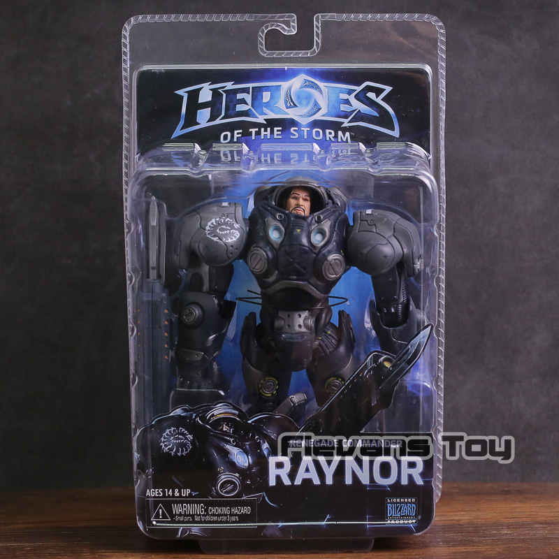 NECA Heroes Of The Storm Raynor PVC Action Figure Collectible Model Toy legion illidan heroes of the storm pvc action figure collectible model toy 7 18cm kt1816