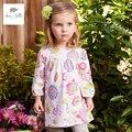 DB4388 davebella весной новые девушки цветочные платья A line красивая фантазия платье