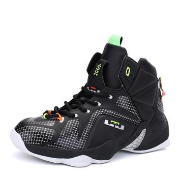 Men Basketball Shoes Jordan Shoes Lebron 12 Kids Sneakers Men Zapatillas Hombre Sneakers Original Retro Chaussure Sport Homme Gg jordans shoes all black