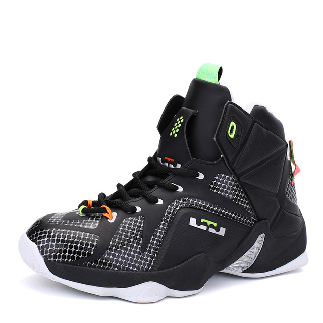 best service 7eca6 ea86f Men Basketball Shoes Jordan Shoes Lebron 12 Kids Sneakers Men Zapatillas  Hombre Sneakers Original Retro Chaussure Sport Homme Gg