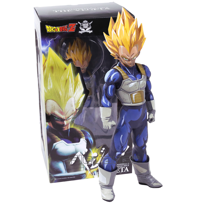 Dragon Ball Z SMSP Super Master Stars Piece The Vegeta PVC Action Figure Collectible Model Toy 3 Colors 30cm shfiguarts dragon ball z vegeta pvc action figure collectible model toy 6 5 16cm