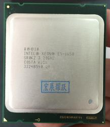 ПК процессор Intel Xeon E5 1650 E5-1650CPU (12 МБ кэш, 3,20 ГГц, IntelQPI) LGA 2011 SR0KZ C2 Бесплатная AliExpress Стандартная доставка