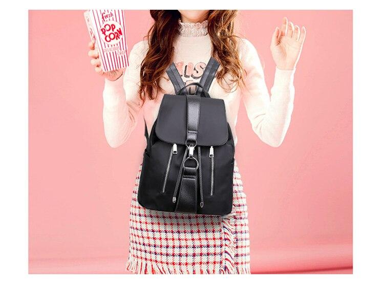 HTB11FMlqqSWBuNjSsrbq6y0mVXaq Fashion Waterproof Oxford Backpack Girls Schoolbag Shoulder Bag High Quality Women Backpacks Mochila Feminina