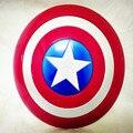 42 cm luz de emisión de voz super hero alianza vengador capitán américa shield casco cosplay para niños de juguete