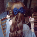 Newly Design Bows Hair Clips Hairpins Fashion Big Solid Cloth Hair Accessories for Women Girl Wedding Hair Jewelry