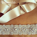 Wedding Belt, Bridal Belt, Sash Belt, Crystal Rhinestone Pearls appliques women wide waistband