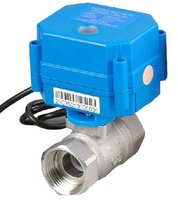 CWX 15Q 1'' Stainless Steel Electric Ball Valve Water 12V Voltage