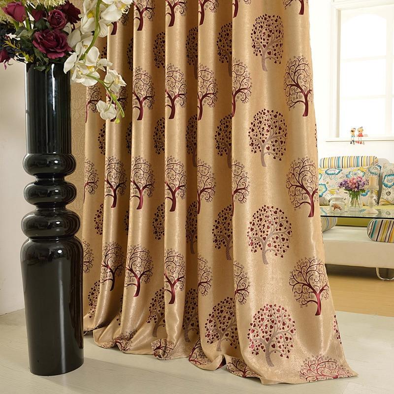 En venta lujo ventana Cortinas para sala/Ropa de cama habitación ...