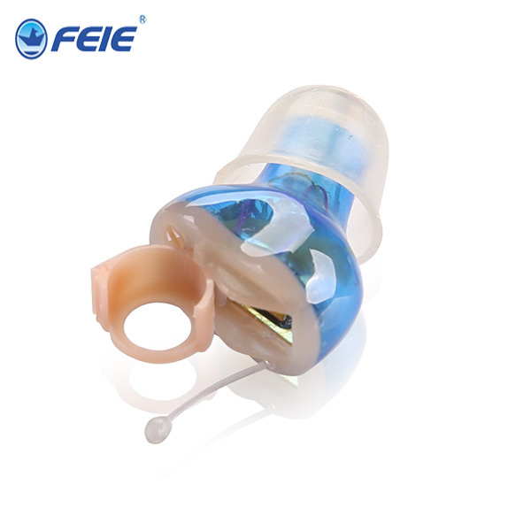 Popular in USA Feie Medical Devices Invisible Mini CIC Hearing Aids in the Ear Canal S-12A