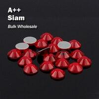 Siam оптовый Hot Fix Стразы подобные SWA AAA Качество strass исправления Камни и кристаллами для одежды украшения