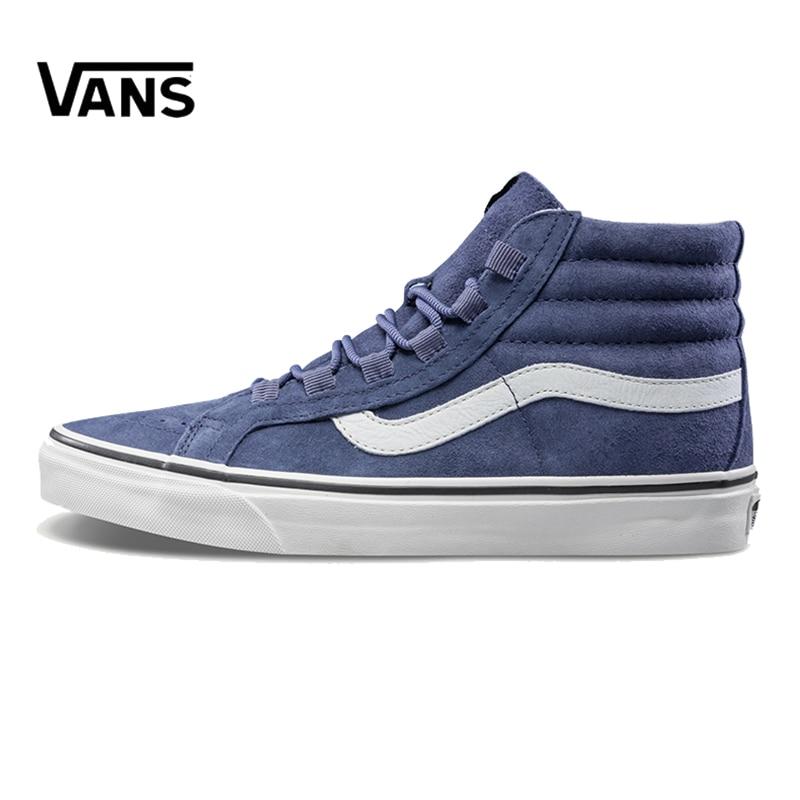 Original New Arrival Vans Men's & Women's Classic Sk8-Hi Skateboarding Shoes Sneakers Canvas Comfortable VN0A3ZCHUQR
