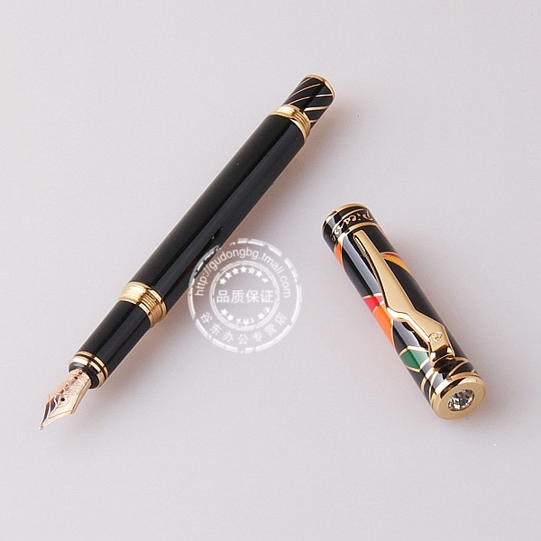 Pimio picasso fountain pen maya ps-80 fashion casual tianyun fountain pens 10k Gold plated nib  FREE shipping italic nib art fountain pen arabic calligraphy black pen line width 1 1mm to 3 0mm