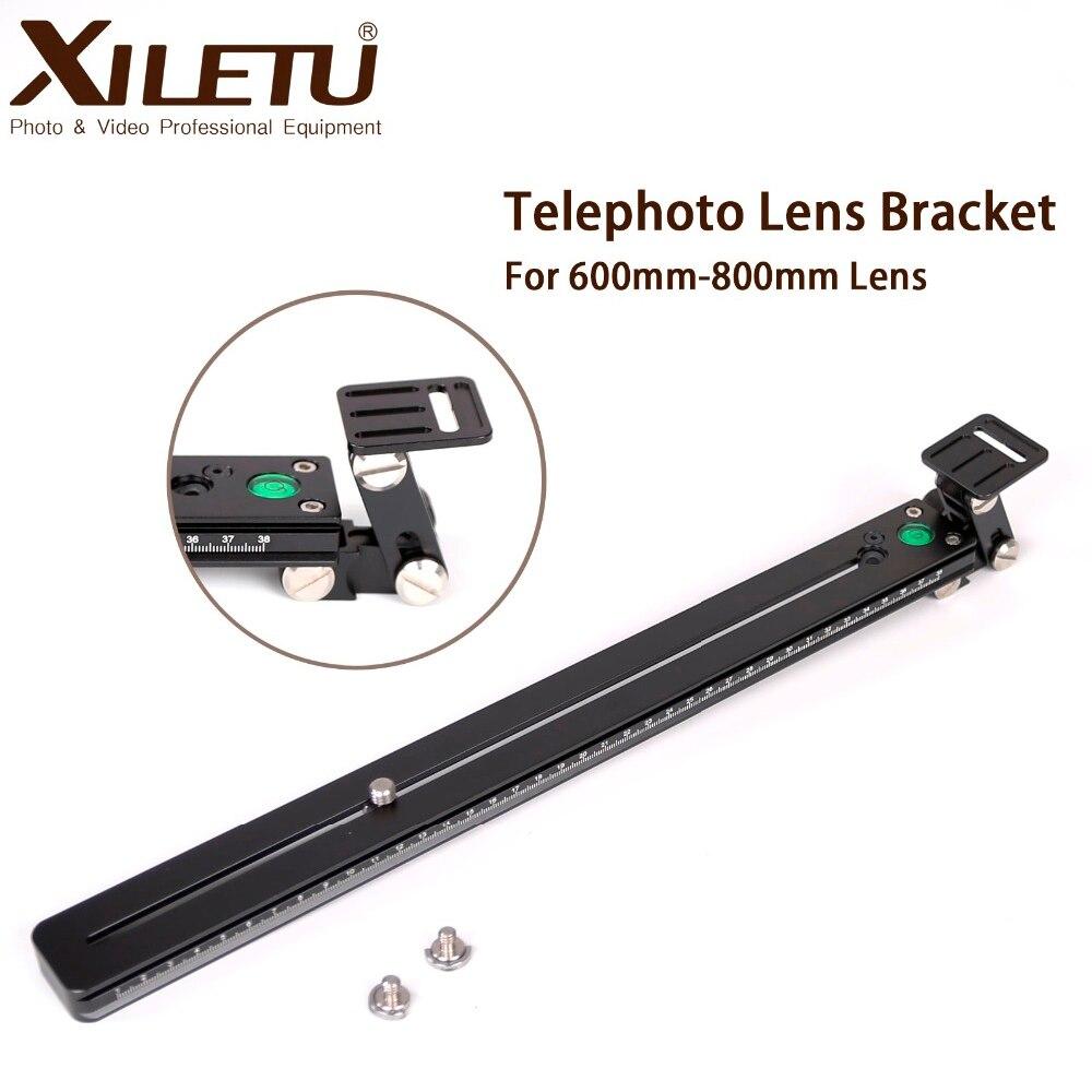 XILETU XTB-450 support téléobjectif tête de télescope trépied plaque de montage plaque de fixation rapide pour Arca Swiss 60 cm-80 cm lentille