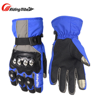 Riding Tribe Motorcycle Waterproof Gloves Skiing Snowboard Racing Touch Screen Gloves Motocross Cycling Gloves Guantes