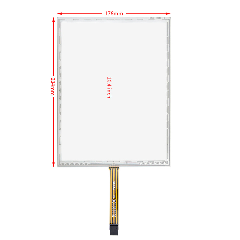 Original 10.4inch 234*178mm 5wire AMT 2507 Resistive Touch