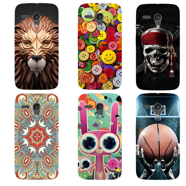 for Motorola Moto G 2013 XT1032 XT1033 Cover Original Plastic Printed Cartoon Phone Case Printing Drawin Fashion Phone Case