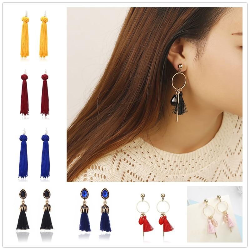 Earrings Jewelry & Accessories Brilliant Ethnic Resin Drop Earrings For Women Vintage Bohemia Dangle Statement Earrings Fashion Jewelry Female Pendientes