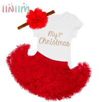 3Pcs NewBorn Baby Clothes Autumn Winter Summer Cotton Baby Rompers Next Kids Infant Clothes Sets Christmas
