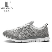 2016 MILANAO New Men Running Shoes Adults Sports Light Running Shoes Men Outdoor Walking Shoes Athletic Trainer Sneakers Shoes