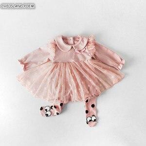 Vestido da menina do bebê 2019 primavera vestido de bebê recém-nascido princesa 1st festa de aniversário weeding vestido infantil rendas roupas do bebê
