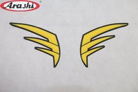 Arashi 2PCS 3D Fuel Gas Tank Pads Sticker Tank Decals For HONDA CBR600RR Motorcycle Sticker Cover Protector Tank Stickers