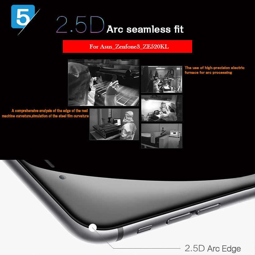 واقيات لـ Wiko U FEEL من الزجاج المقسى 9H 2.5D واقي للشاشة الممتازة مناسب للأفلام الواقية LCD مقاس 5.0 بوصة من Wiko UFEEL Lite