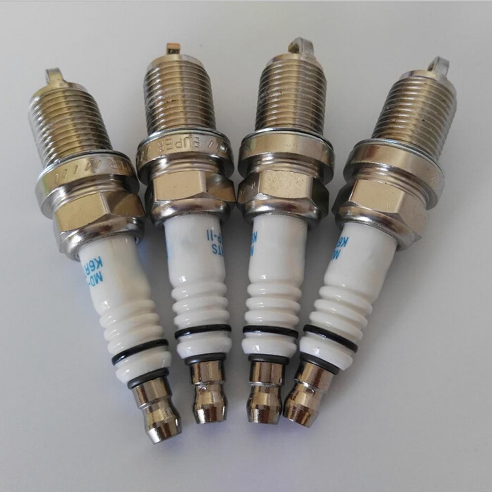 Spark Plugs x 4 Bosch Fits Vauxhall Astra Corsa Zafira Meriva Vectra Audi A4 A6