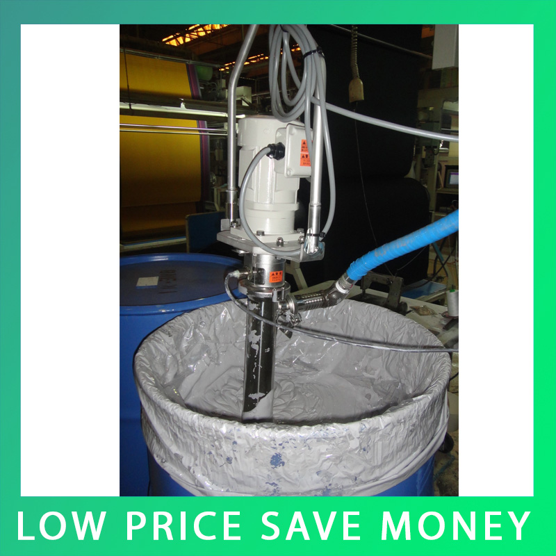 550KW 100000CPS Stainless Steel Food Grade Screw Pump 220V Barrel Pump For Shampoo/Coating/Resin/Ink