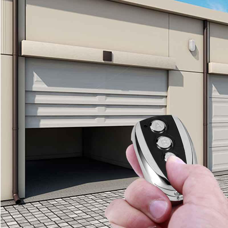 ANBES 433.92Mhz Cloning Gate for Garage Door Remote Control Switch Portable Duplicator Key For Car