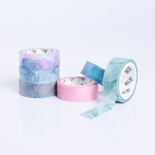 6pcs lot Natural Color Washi Tape DIY Decor Adhesive Tapes Scrapbooking Paper tape Student Stationery School
