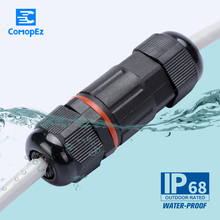 10pcs Waterproof Connector for Outdoor Light 6-12mm 250V 16AQuickly Connected Retardant IP68 Wire