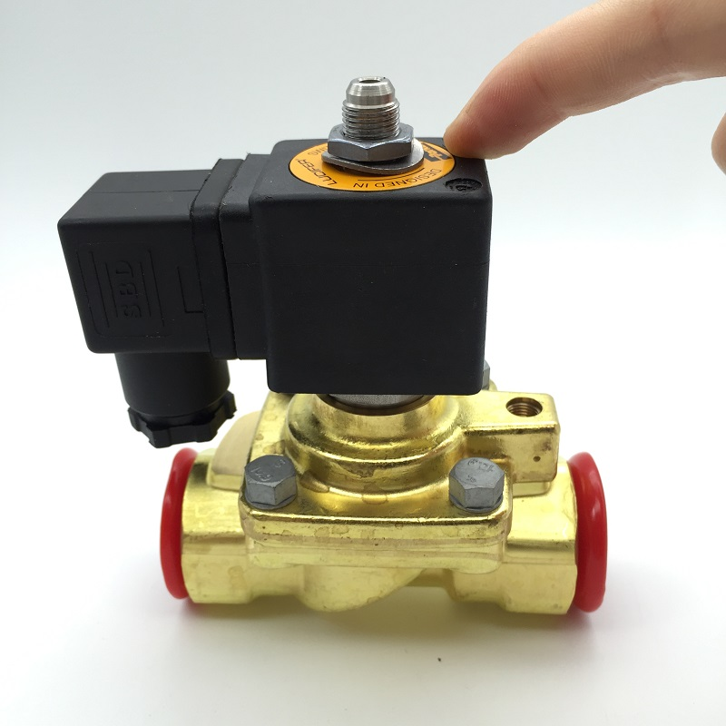 Authentic American PARKER two pass 322H36 normally open solenoid valve 6 points high pressure valve with coil mutua madrid open pass page 7