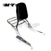 Backrest Sissy Bar Luggage Rack For Honda Magna 750 VF750 250 VF250 Motorcycle New Chrome Rear